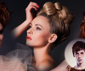 Český kadeřník a vlasový stylista Patrik Hagara vytvořil novou kolekci romantických společenských účesů inspirovaných anděly v ženském těle.