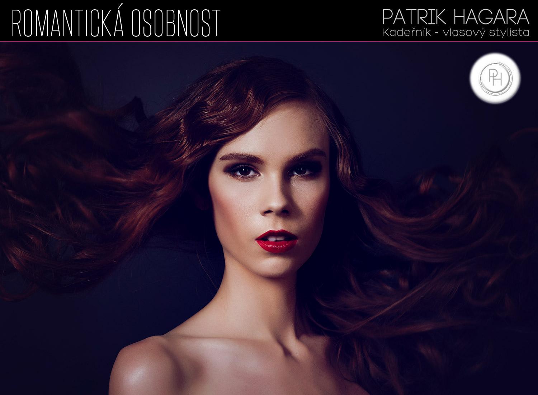 Romantická duše kadeřníka Patrika Hagary představuje andělskou kolekci společenských účesů s názvem Romantická osobnost.