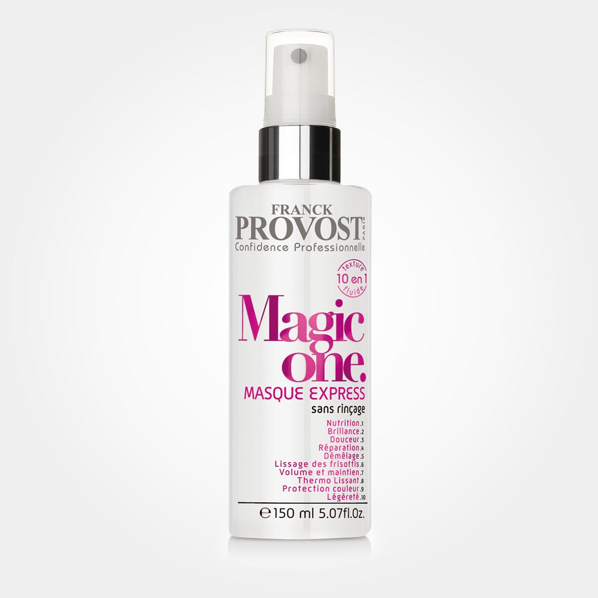 Bezoplachová maska na vlasy Magic One 10 v 1 od Franck Provost