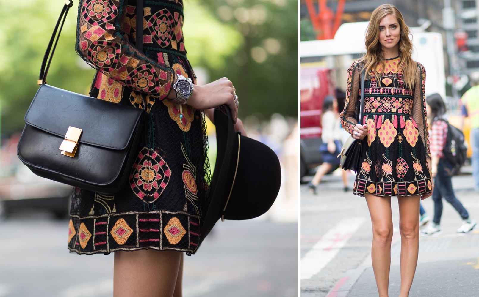 Takto se módní blogerka Chiara Ferragni vydala v rámci Fashion Week na přehlídku Hugo Boss – s vlasy učesanými do úchvatných módních vln!