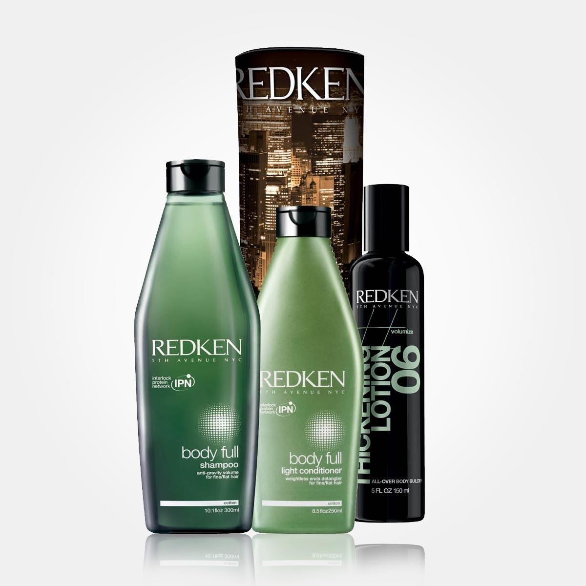 Vánoční dárky Redken: BODY FULL – BOOST THE VOLUME