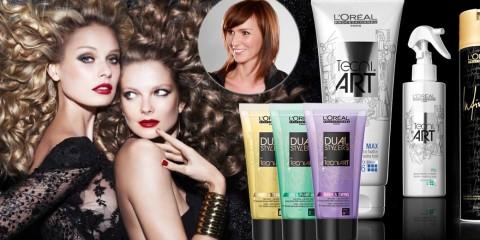 Vyzkoušejte nové stylingové přípravky Dual Stylers z řady Tecni.ART od L'Oréal. Jak je kombinovat s jinými vám poradí kadeřnice a stylistka Misha Čadková.