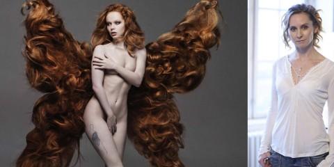 Vlasová designérka Jana Burdová vytvořila pro osvětovou kampaň DEBRA ČR o životě s nemocí motýlích křídel 12 plus 12 unikátní vlasová křídla z pravých vlasů.