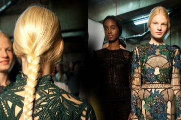 Nahlédněte do zákulisí londýnských módních přehlídek a inspirujte se novými nápady na účesy, které pro top návrháře připravila značka L'Oréal.