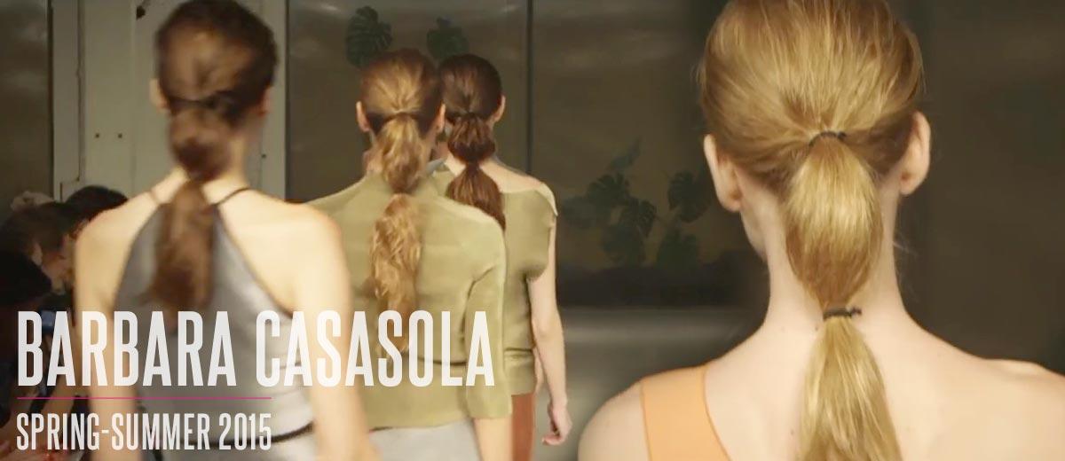 L'Oréal Professionel pro Barbara Casasola: nápady na účesy S/S 2015.