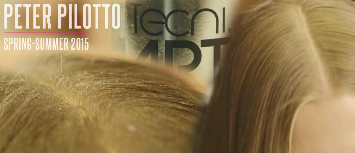 L'Oréal Professionel pro Peter Pilotto: nápady na účesy S/S 2015.