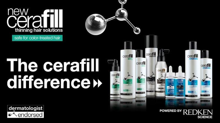 Trápí vás řídnutí vlasů? Zkuste novou vlasovou kosmetiku Cerafill pod hlavičkou Redken Science, který přináší okamžitě hustější, plnější a silnější vlasy.