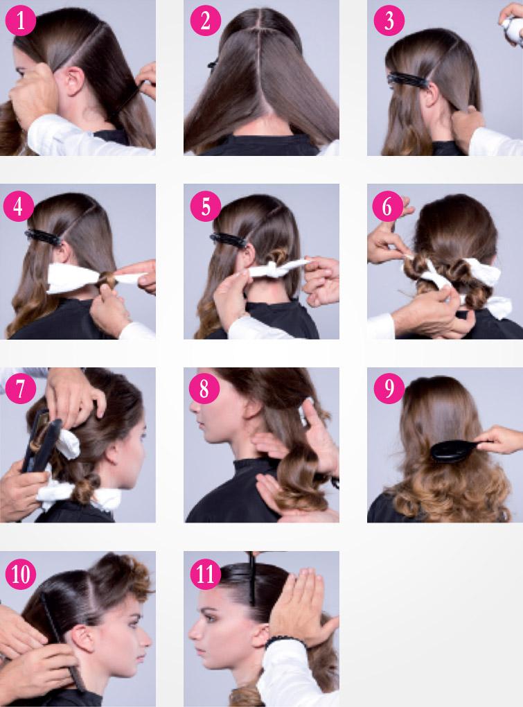 Jak na mokrý vzhled vlasů