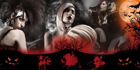 Pojďte se bát! Halloweenské účesy a strašidelný make-up vás příjemně naladí na tradiční svátek. Rozsviťte si tykev a bavte se!