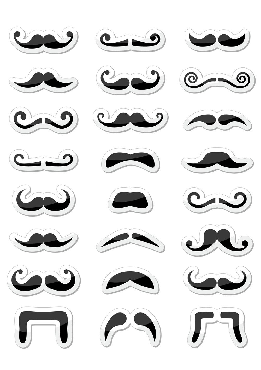 Movember 2014 a kníračení je tady! Který knír si necháte narůst? Vytiskněte si šablonu, vystřihněte knír, nalepte jej ideálně na špejli a zkoušejte před zrcadlem!
