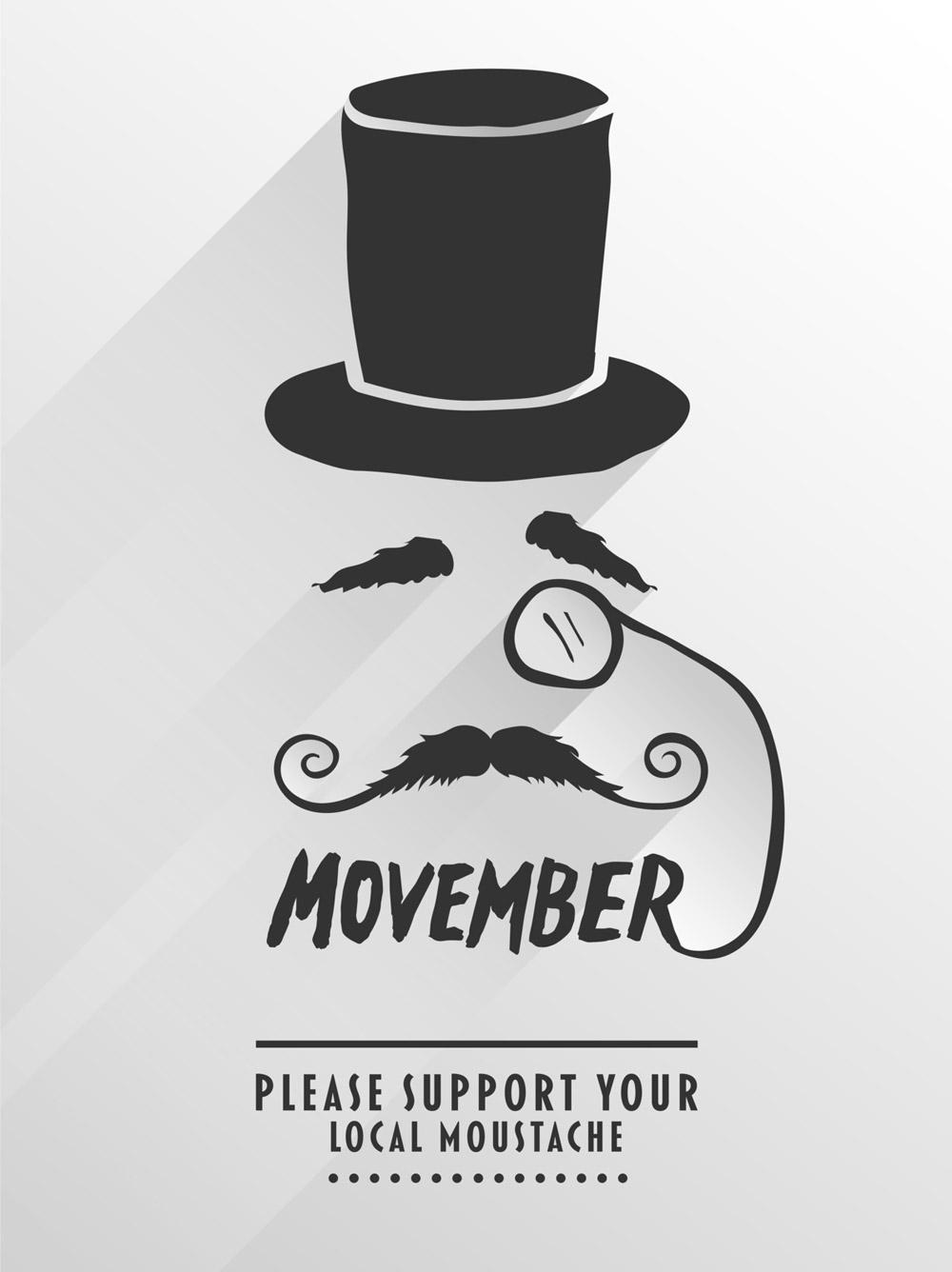Slavte s námi Movember 2014! Nechte si narůst knír a podpořte mužské zdraví!