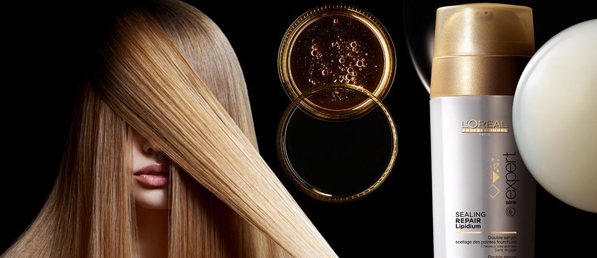 Třepí se vám konečky a ptáte se, co na roztřepené vlasy funguje nejlépe? Použijte speciální regenerační sérum Sealing repair lipidium.