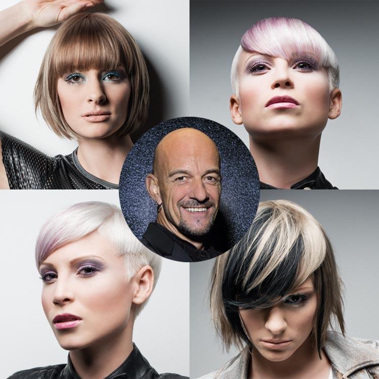 Seznamte se s účesy, které připravil ambasador německého L'Oréal Professionnel a jeden z nejuznávanějších světových kadeřníků, Achim Rothenbühler.