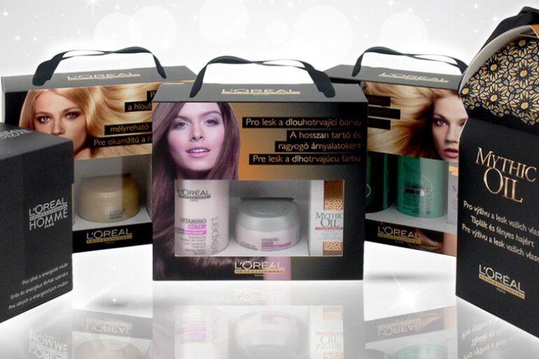 Vánoční dárky L'Oréal Professionnel jsou skvělým řešením, jak pod stromeček věnovat svým blízkým, přátelům či známým krásné a zdravé vlasy.