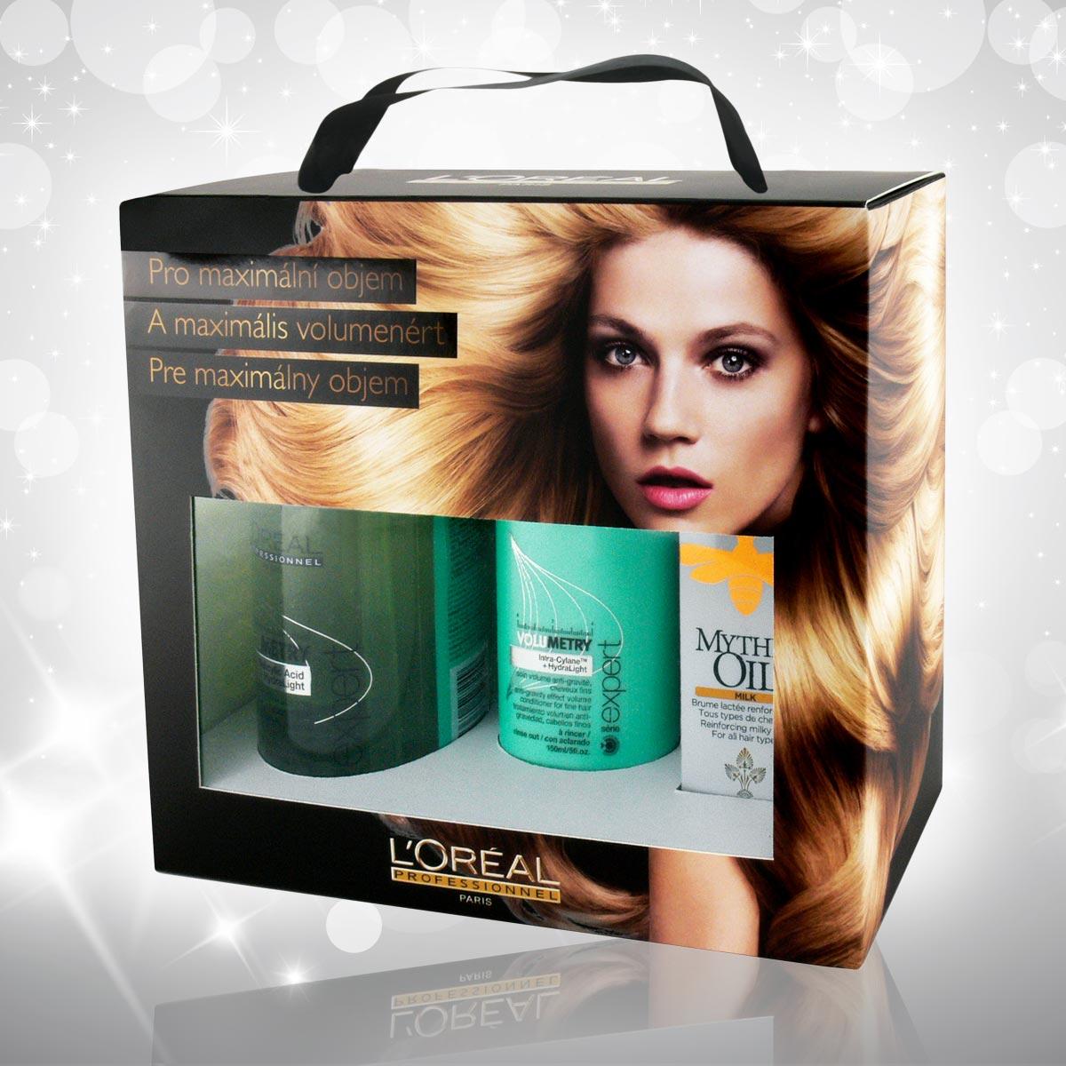 Vánoční dárky L'Oréal Professionnel 2014 –Volumetry pro maximální objem.
