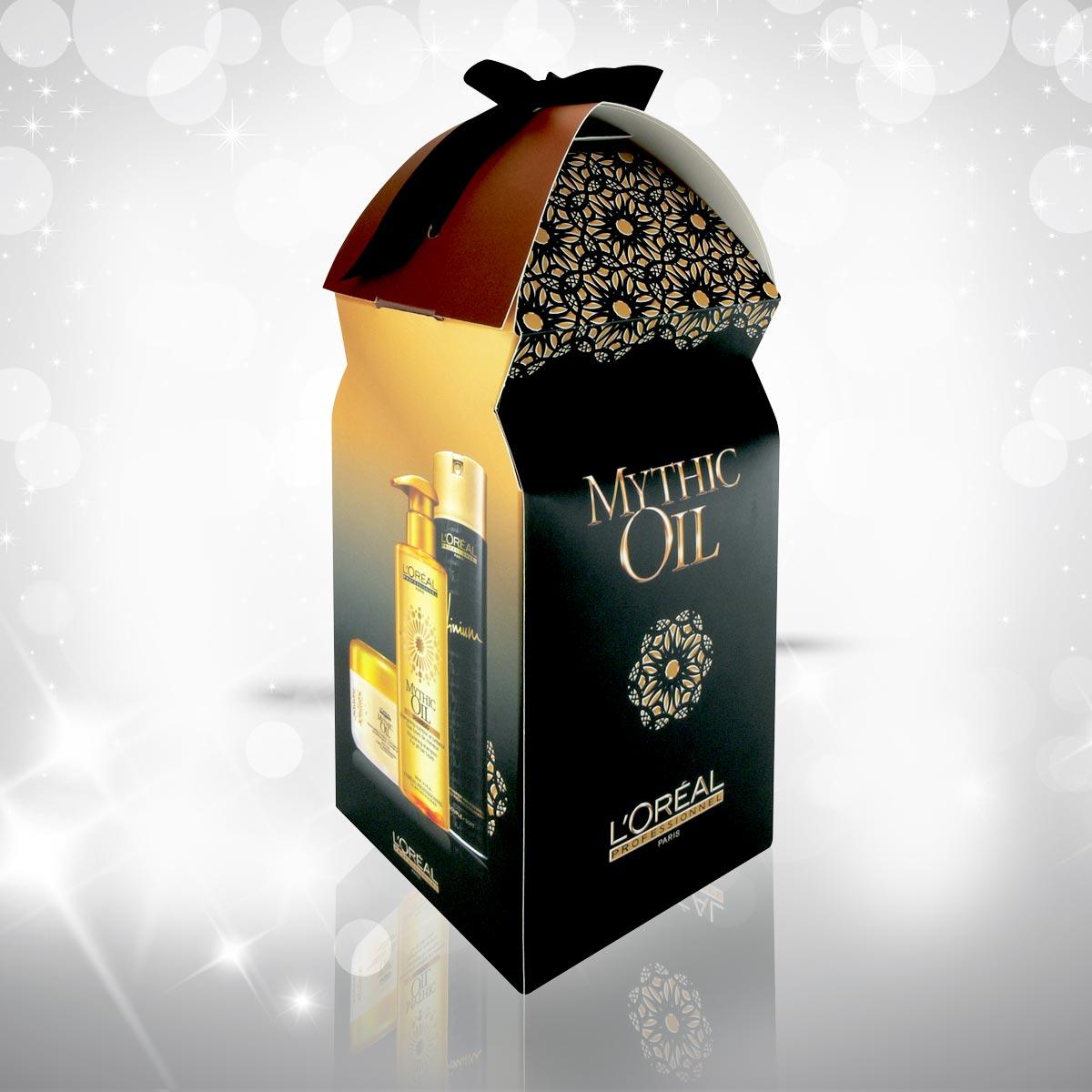 Vánoční dárky L'Oréal Professionnel 2014 – Mythic Oil pro výživu a lesk vlasů.