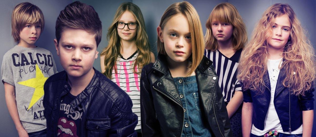 Jednoduché účesy do školy představuje ve své kolekci prestižní kadeřnické studio J.7 Group. Nová kolekce dětských účesu je jmenuje Young Stars.