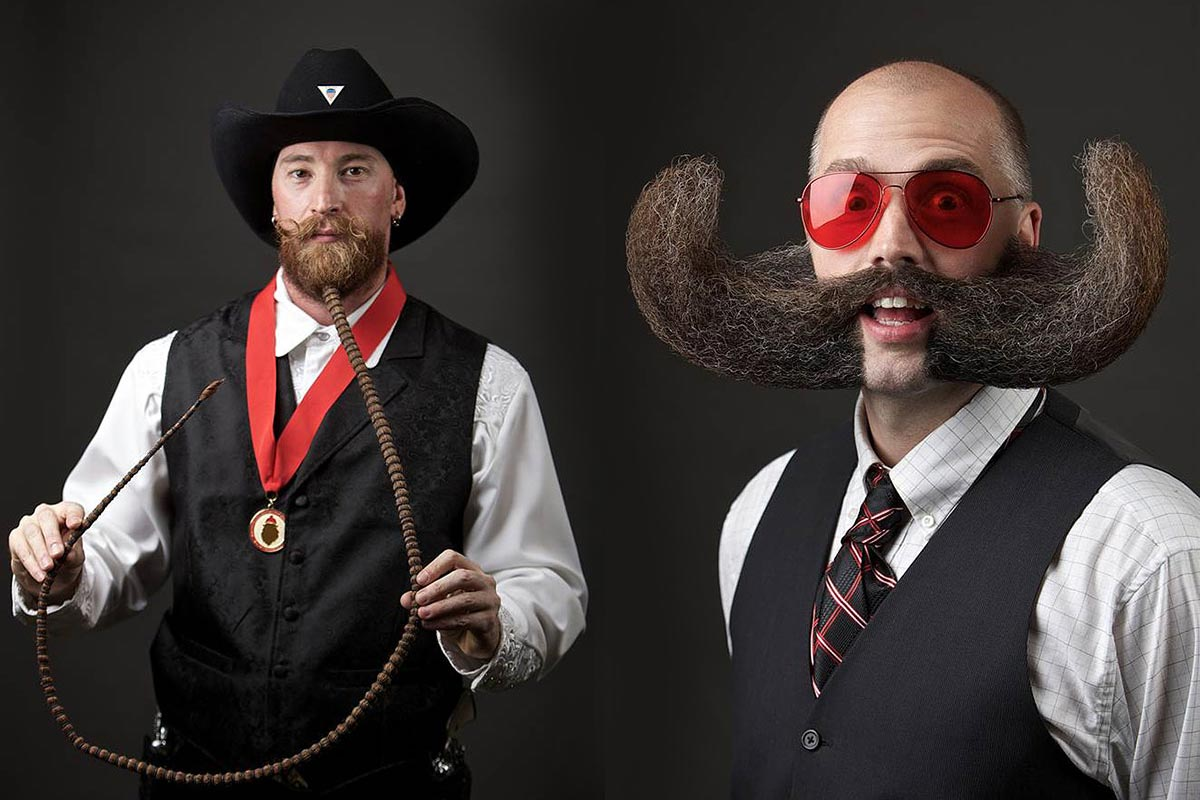 World Beard and Moustache Championships představil nejlepší kníry, vousy a bradky roku 2014. Vše je zaručeně pravé!