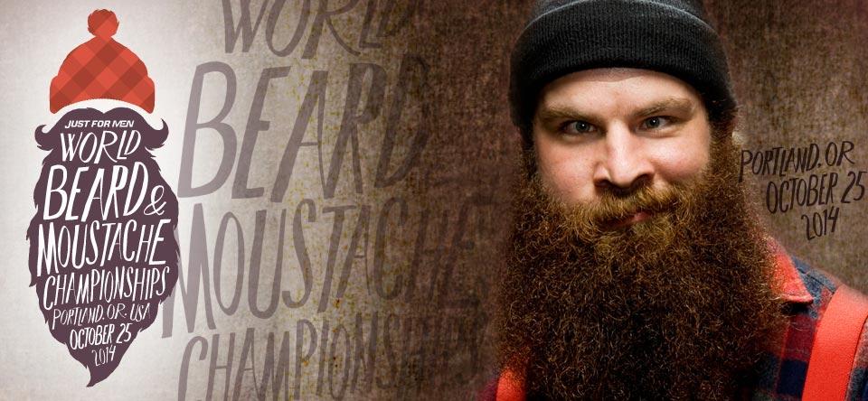 World Beard and Moustache Championships představuje každý rok nejúžasnější knírače a vousáče!