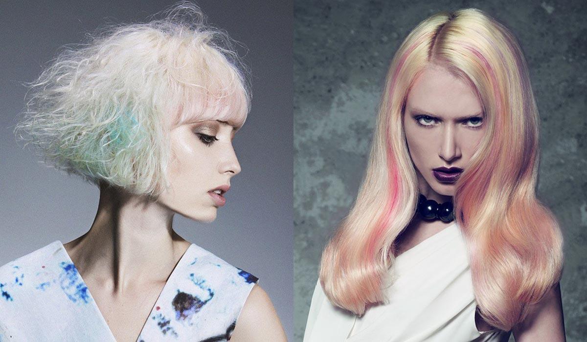 Zkuste také nepermanentní melírování nazývané Hair Chalk.