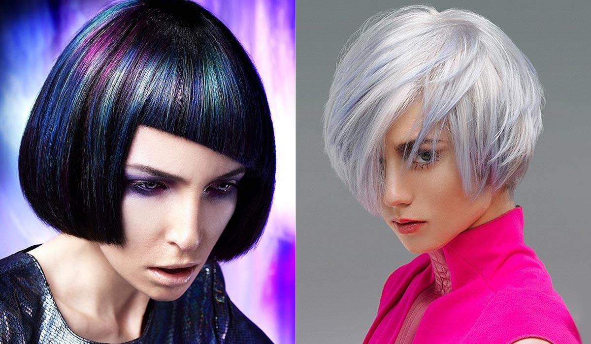 Modrý melír vypadá skvěle na tmavých vlasech i jako extravagantní zpestření blond účesů. I na blond však může vypadat decentně pokud vsadíte na kouřový odstín.