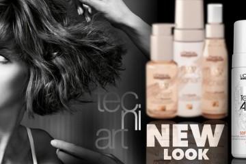 Oblíbené stylingové produkty Nude Touch mají nový design. Spray pro silnou fixaci Natural Finish i pěnu pro objem nových vlasů teď najdete v novém balení.