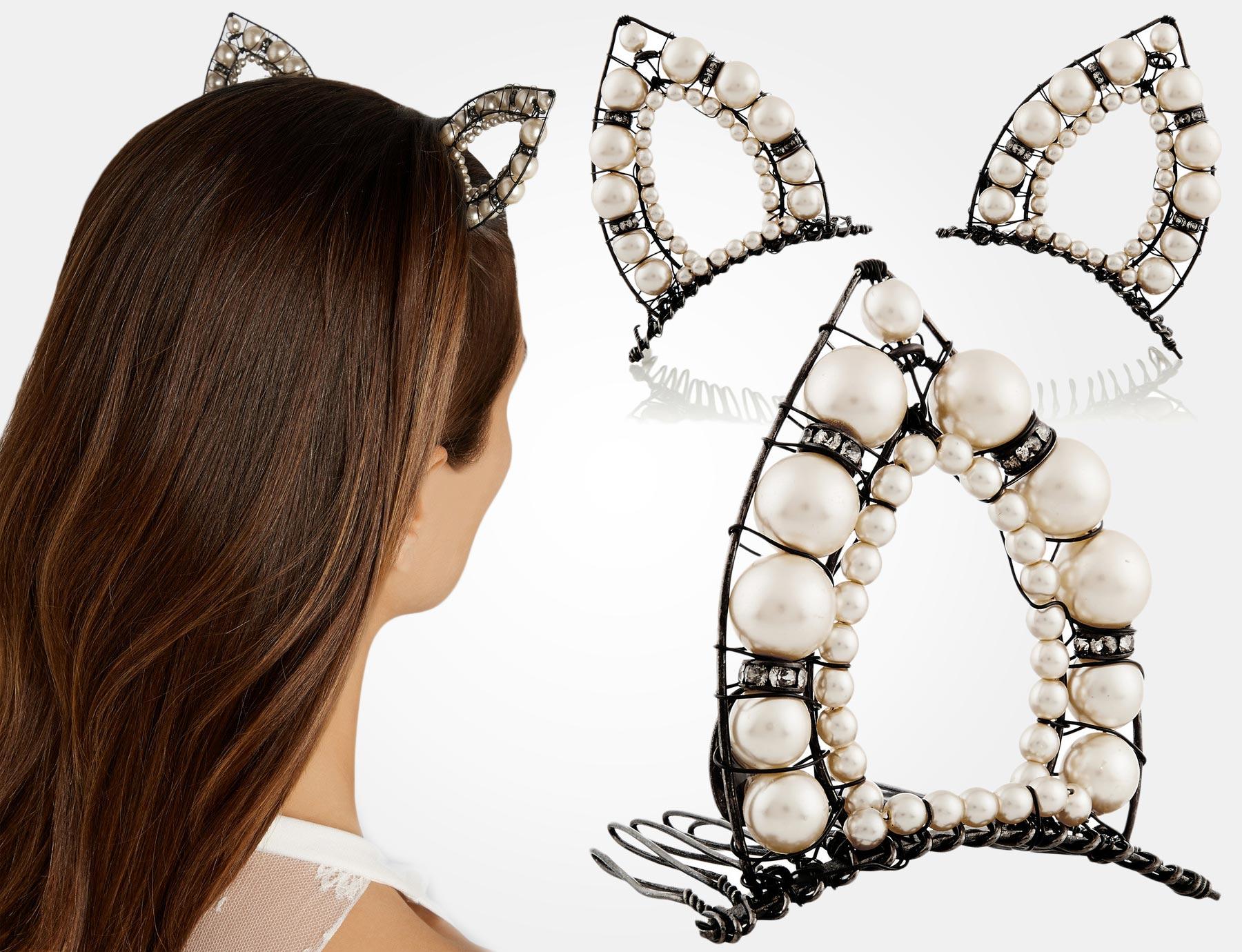 Vlasové doplňky, které mohou váš běžný krátký účes proměnit na plesový účes pro krátké vlasy, se nebojí být extravagantní, svádět, ani být vynalézavé.