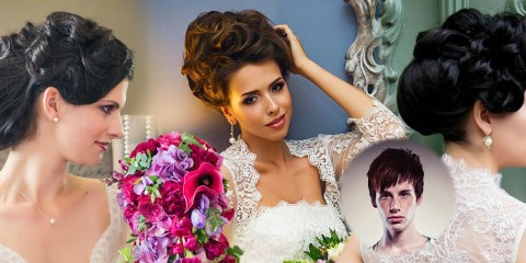 Jsou tak hezké, že nepotřebují ani závoj. Svatební účesy Patrika Hagary pro svatební kolekci značky Nanay vás upoutají bohatými výčesy.