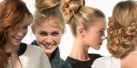 Ať už na ples, večírek nebo do divadla – společenské účesy pro dlouhé vlasy z kolekce Saint Algue jsou skvělým řešením, jak se slavnostně učesat.