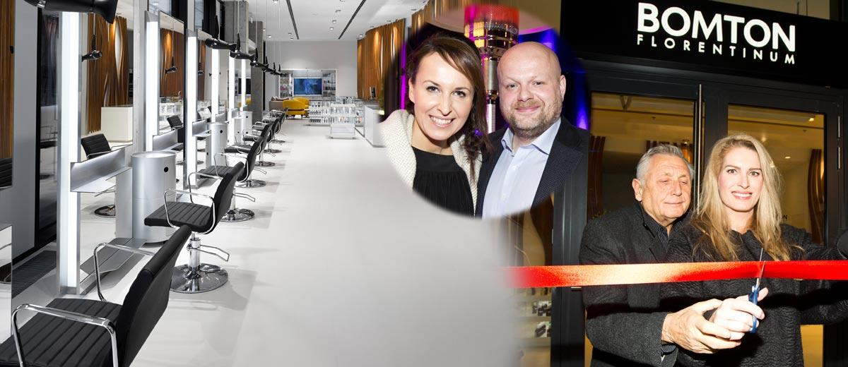 Síť kadeřnických salonů Bomton otevřela nové studio. Na pražském Florenci najdete nově Bomton Florentinum.
