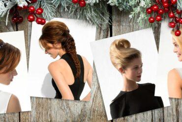 Hledáte rychlé účesy pro dlouhé vlasy, které zvládnete samy za pár minut a bez pomoci kadeřníka? Podívejte se na čtyři sváteční tipy!
