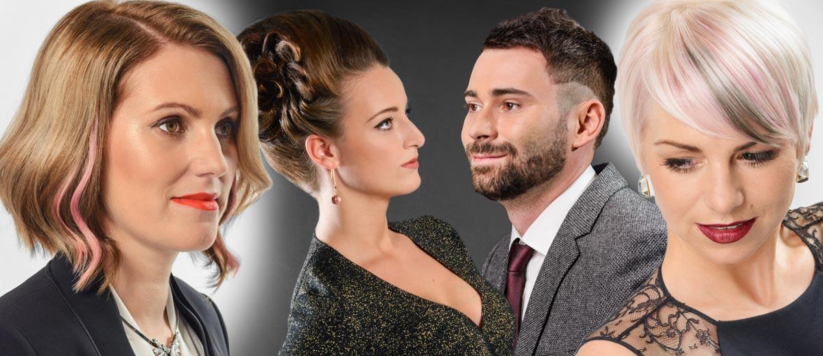 Plzeňský kadeřnický salon Hair Art Design představuje svoji novou kolekci účesů pro zimu 2014/2015. Dámské účesy doplňuje také účes pro muže.