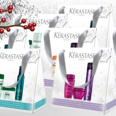 Vlasová kosmetika Kérastase je synonymem pro zdravé a krásné vlasy. Věnujte je jako vánoční dárky 2014 v podobě speciálních vánočních balíčků značky.