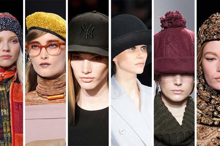 Na hlavu nepatří jen účesy, ale také různé pokrývky hlavy. Jaké čepice a klobouky jsou módní letos v zimě 2014/2015? Móda z přehlídkových mol je tady!