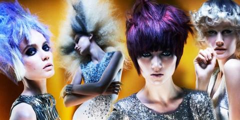 Kadeřnická esa, Brian Gallagher a Matthew Horner představili svoje barevné vlasy v kolekci účesů nazvané Spellbound. Okouzlení budete také!