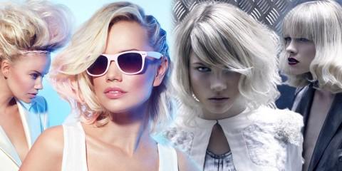 Blond vlasy mají být v roce 2015 barevně tónované. Největším hitem je růžové a stříbrné tónovaní. Které podle vás vypadá lépe?
