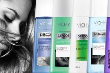 Vlasová kosmetika Dercos nabízí šampony Vichy, které přináší řešení pro všechny běžné, ale zákeřné problémy, se kterými se naše vlasy potýkají.