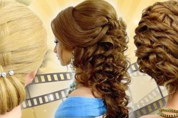 Hairstyliska Sklemina Tatiana v několika video tutoriálech ukazuje krok za krokem, jak vytvořil relativně složité společenské účesy. Naučte se je!
