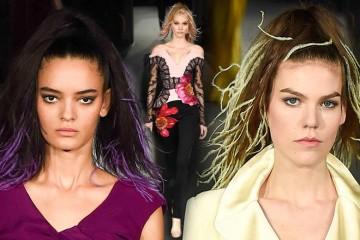 Slavný módní návrhář nám radí, ozdobit v této sezóně společenské účesy peřím. Prodlužte si vlasy místo clip-in vlasy speciálními pírky do vlasů!