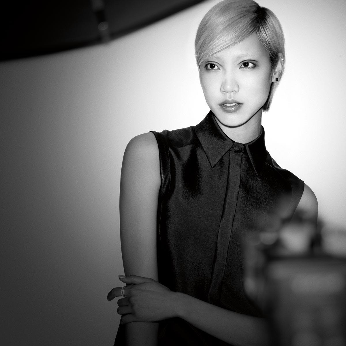 Soo Joo Park je nejnovější múza značky Redken. (Foto: Matt Irwin)