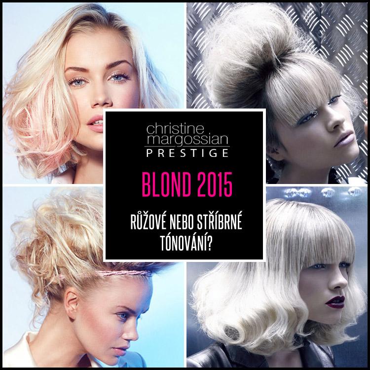 Blond účesy pro rok 2015 si hrají s pastelovým tónováním. Největším hitem je růžová a stříbrná blond. Která se vám líbí více?