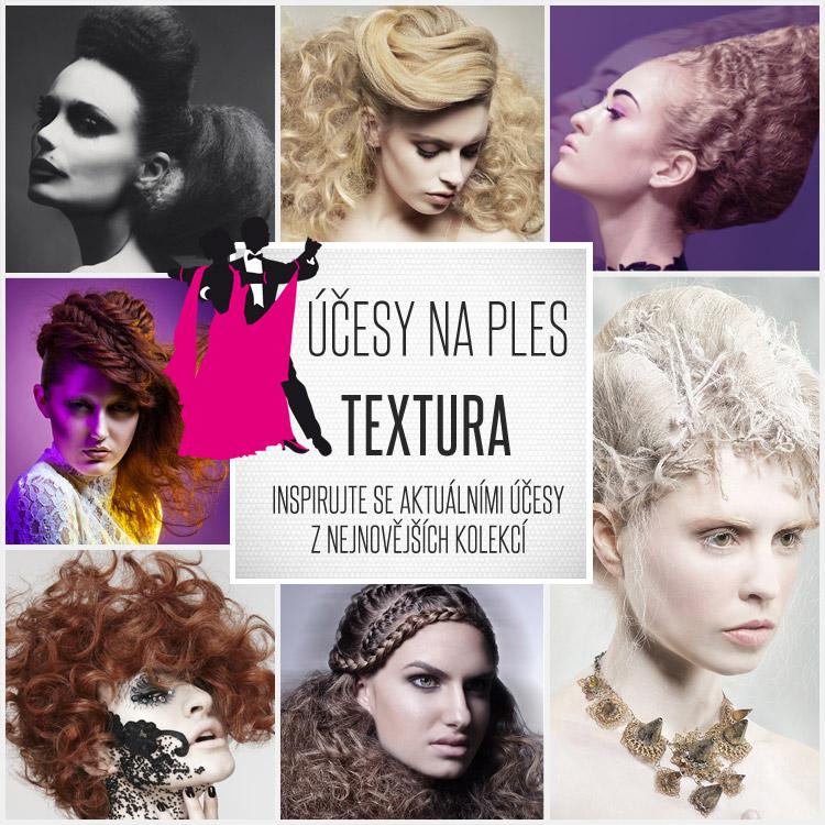 Zkusíte špetku účesové extravagance? Podívejte se na plesové účesy 2015, jejichž kreativita spočívá ve hře s texturou vlasů!