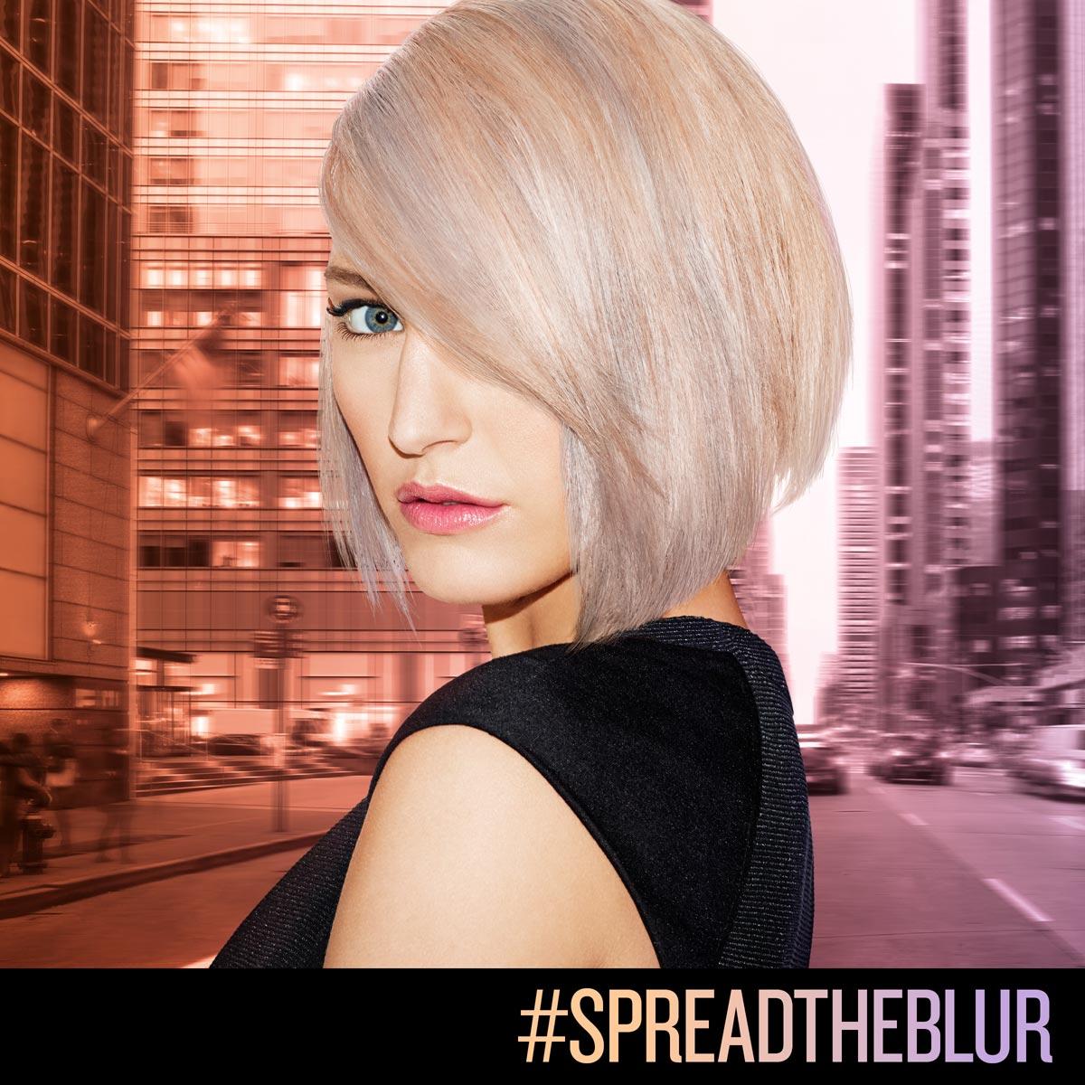 Redken barvy na vlasy představují novou techniku barvení Blur – pastelový Blur podle Justin Isaac