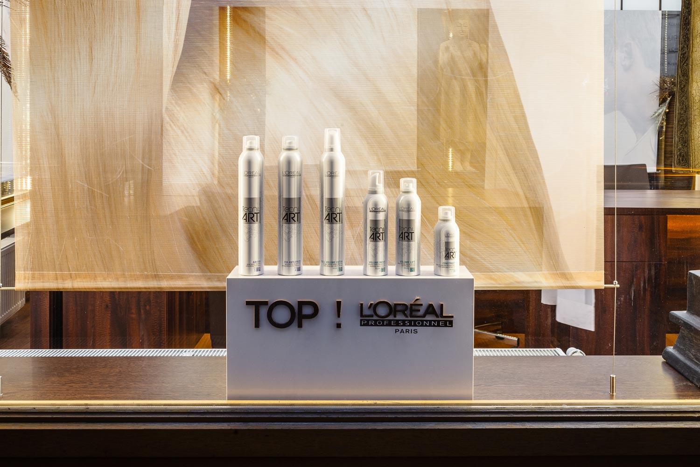V kadeřnictví LIQUID si můžete zakoupit profesionální vlasovou kosmetiku L'Oréal Professionnel.