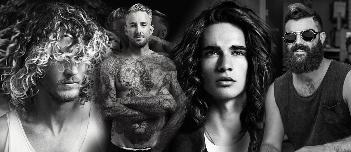 Čtyři kadeřníci – čtyři zcela odlišné pánské kolekce účesů. Podívejte se na módní pánské účesy od nejlepších kadeřníků Austrálie a Nového Zélandu.
