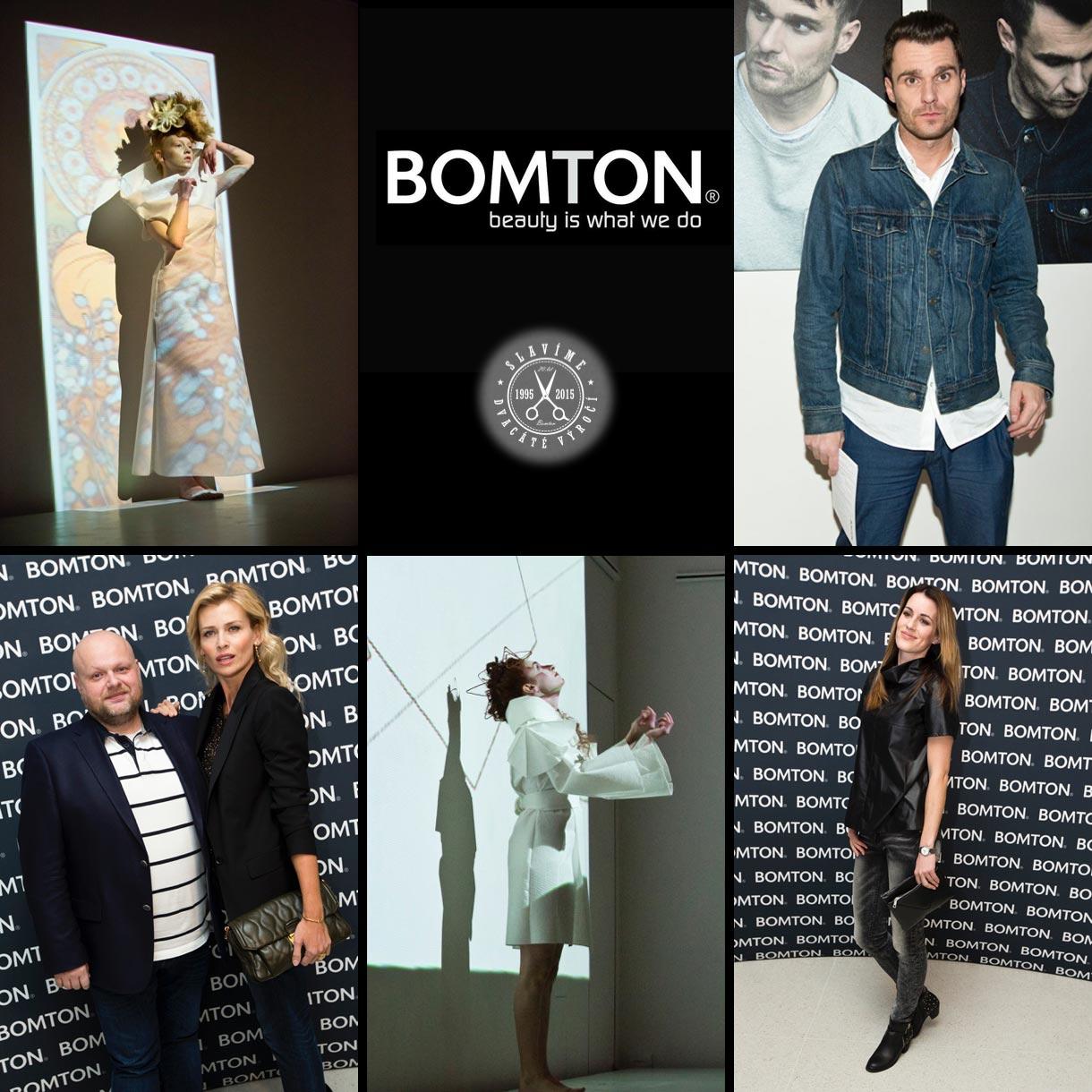 BOMTON slavil své dvacetiny za účasti mnoha známých tváří. Znáte všechny služby studia BOMTON? Za 20. let jich není málo!