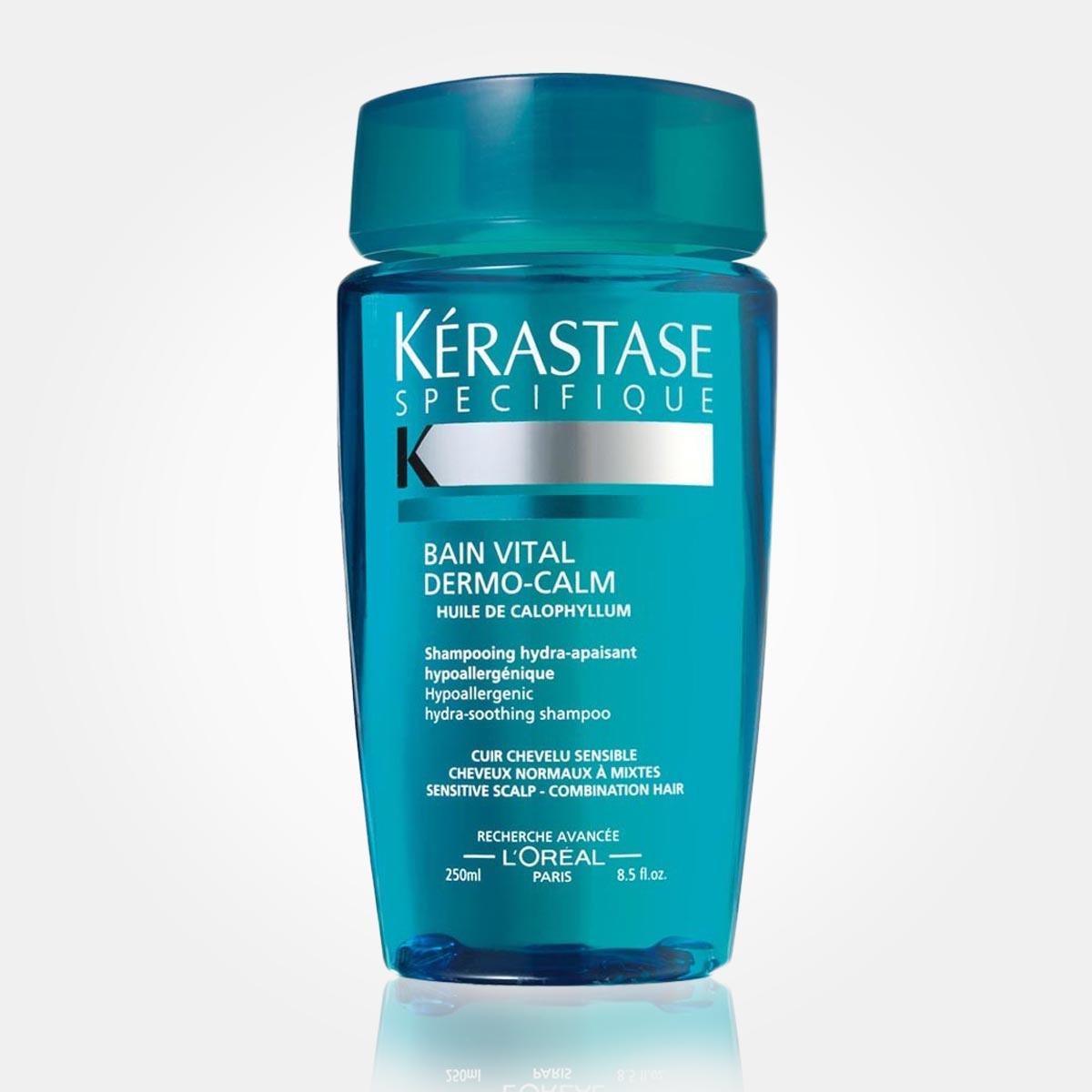Šampón Bain Vital Dermo-Calm (250 ml), doporučená maloobchodní cena: 490 Kč / 17,50 EUR