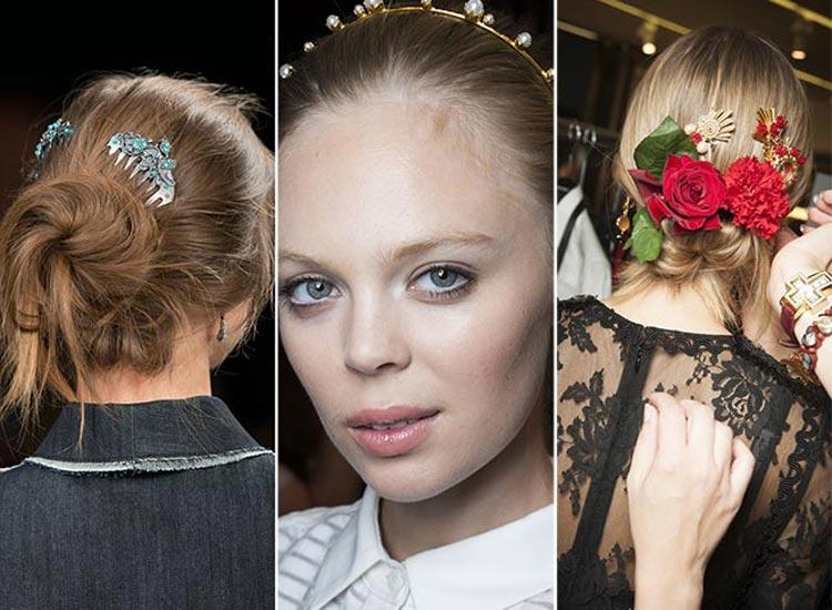 Vlasům budou v roce 2015 slušet vintage vlasové doplňky.