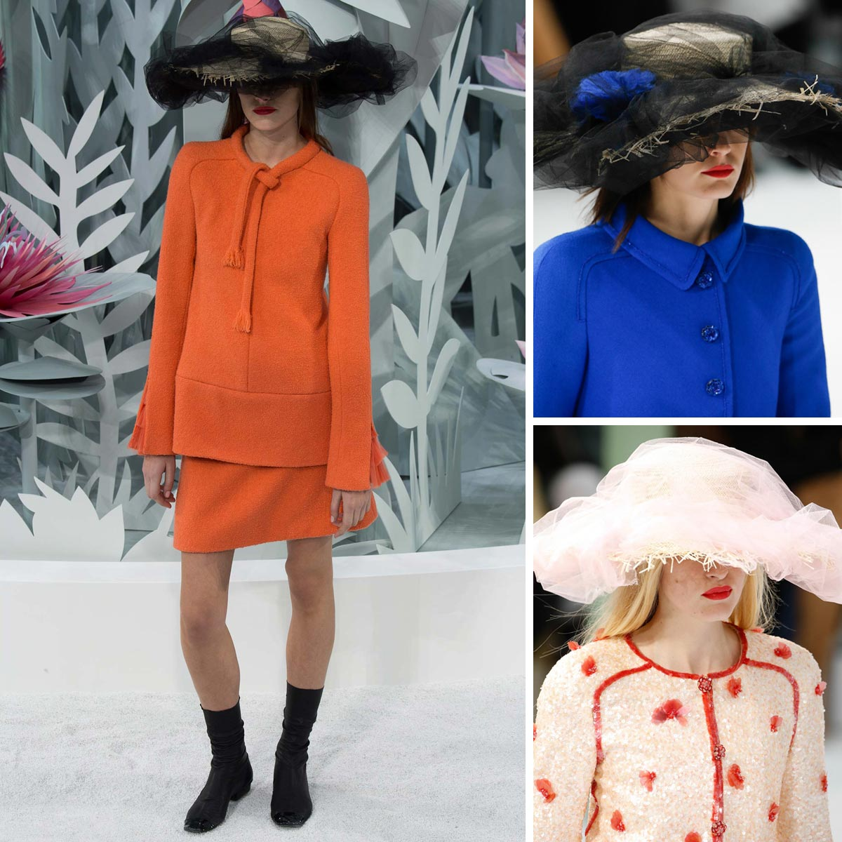 Haute Couture slamák podle Chanel.