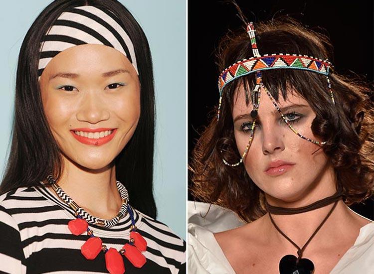 Trendy účesy 2015: Šátek ve vlasech zažívá obrození!